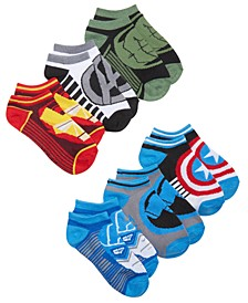 Avengers Athletic Low-Cut Socks, Little Boys & Big Boys