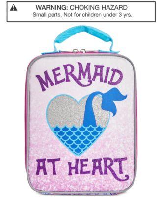 Little & Big Girls Mermaid Lunch Bag