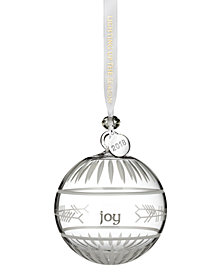 "Waterford Ogham ""Joy"" Ball Ornament"