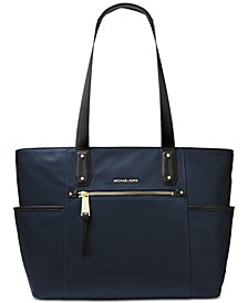 Polly Top Zip Nylon Tote