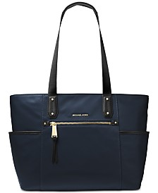 MICHAEL Michael Kors Polly Top Zip Nylon Tote