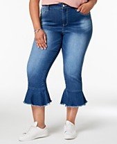 cf0be0568d683 Cropped Flare Women s Plus Size Jeans - Macy s
