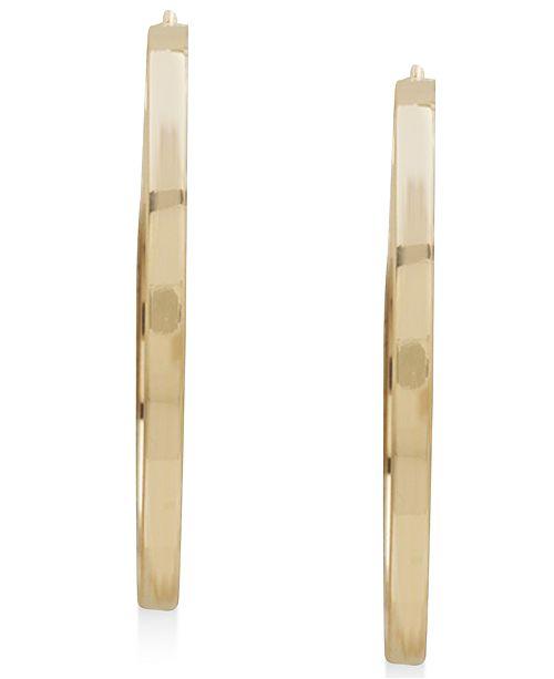 Macy's Hoop Earrings 14k Gold Earrings