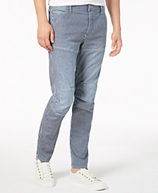 G-Star RAW Men's 3D Striped Slim-Fit Stretch Jeans, Created for Macy's
