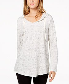 Style & Co Shirttail-Hem Hoodie, Created for Macy's