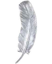 Zuo Pluma Large Wall Decor Silver