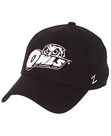 Zephyr Temple Owls Black/White Stretch Cap