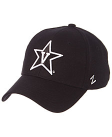 Zephyr Vanderbilt Commodores Black/White Stretch Cap