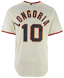 Majestic Men's Evan Longoria San Francisco Giants Player Replica Cool Base Jersey