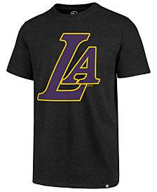 '47 Brand Men's Los Angeles Lakers Mashup Logo Club T-Shirt
