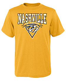 Outerstuff Nashville Predators Banner Season T-Shirt, Big Boys (8-20)