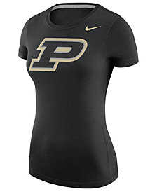 Nike Women's Purdue Boilermakers Scoop Logo T-Shirt