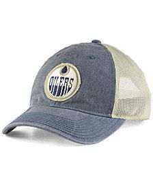 adidas Edmonton Oilers Sun Bleached Slouch Cap
