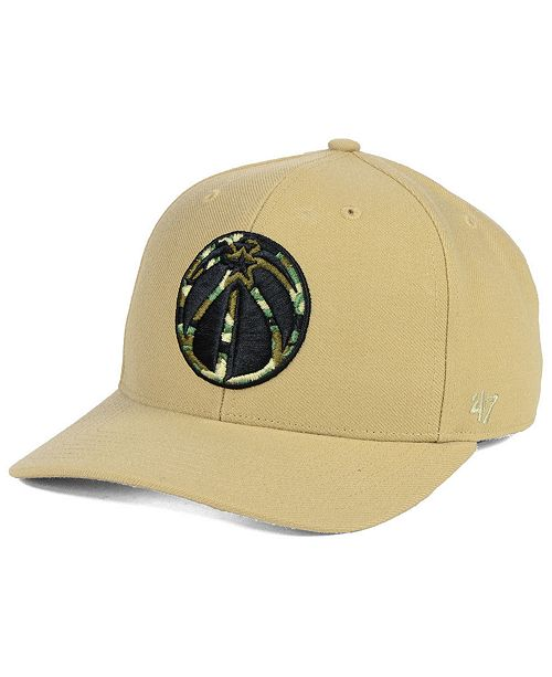 size 40 e762a bc8ea 47 Brand Washington Wizards Camfill MVP Cap - Sports Fan Shop By ...