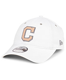 New Era Cleveland Indians Metallic Pastel 9TWENTY Cap