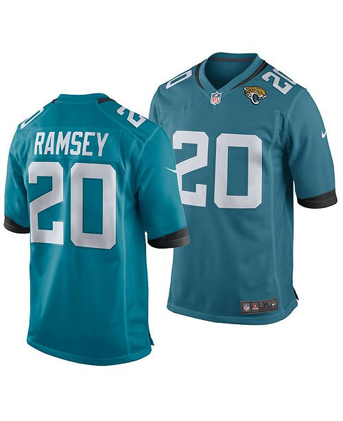detailed look e4b5c 9f174 Men's Jalen Ramsey Jacksonville Jaguars Game Jersey