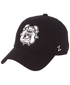 Zephyr Fresno State Bulldogs Black/White Stretch Cap