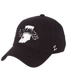 Zephyr Indiana State Sycamores Black/White Stretch Cap