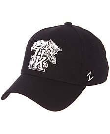 Zephyr Kentucky Wildcats Black/White Stretch Cap