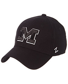 Zephyr Michigan Wolverines Black/White Stretch Cap
