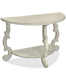 Demilune Console Table, Quick Ship