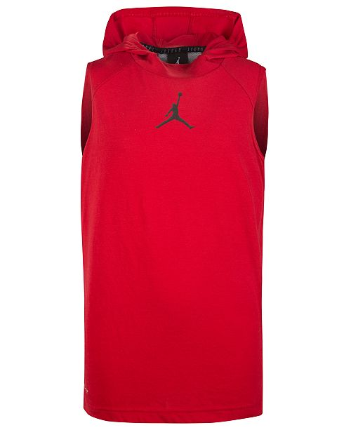 13c317ecaae1b0 Jordan Big Boys 23 Alpha Sleeveless Hoodie   Reviews - Sweaters ...