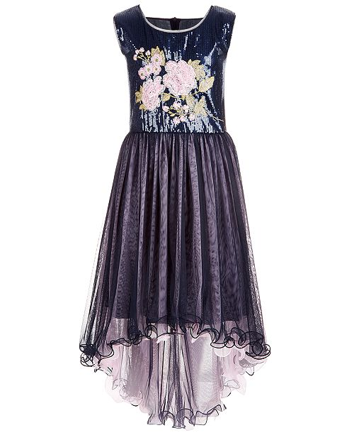 a65131b93 Bonnie Jean Big Girls Embroidered Sequin Dress   Reviews ...