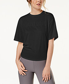 Nike Just Do It Tie-Back Training Top