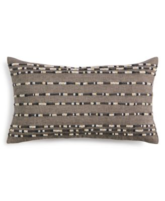 "Linen 14"" X 24"" Decorative Pillow, Created for Macy's"