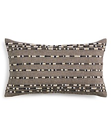 "Hotel Collection Linen 14"" X 24"" Decorative Pillow, Created for Macy's"