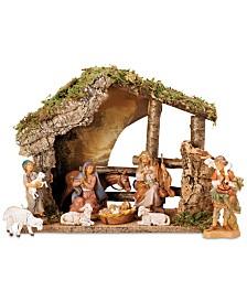 Roman Fontanini 9-Pc. Figural Stable Nativity Set