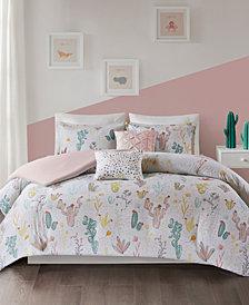 Urban Habitat Kids Desert Bloom 5-Pc. Full/Queen Cotton Duvet Cover Set