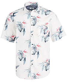 Univibe Men's Pivotal Palm Print Shirt