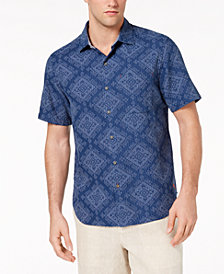 Tommy Bahama Men's Geo De Mayo Camp Shirt