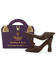 Charbonnel et Walker Purple Handbag & Dark Chocolate Shoes