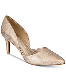 Bandolino Grenow Pointed-Toe D'Orsay Pumps