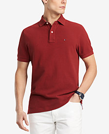 Tommy Hilfiger Men's Big & Tall Classic Fit Ivy Polo, Created for Macys