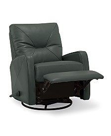 Finchley Leather Swivel Rocker Recliner