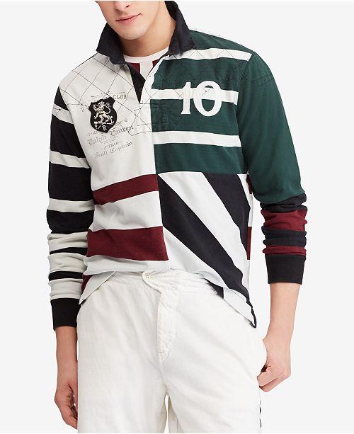 79436cc05 Polo Ralph Lauren Men s Classic Fit Cotton Rugby Shirt   Reviews ...