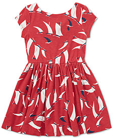 Polo Ralph Lauren Toddler Girls Sailboat Twist-Back Dress
