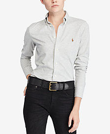Polo Ralph Lauren Knit Cotton Oxford Shirt
