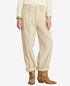 Polo Ralph Lauren Twill Straight Cotton Pants