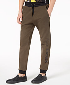 Versace Men's Logo Jogger Pants