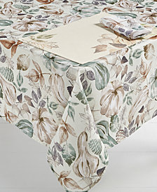 "Elrene Gourd Gathering 60"" x 120"" Tablecloth"