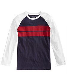 Tommy Hilfiger Big Boys Barron Striped T-Shirt
