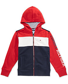Tommy Hilfiger Toddler Boys Colorblocked Hoodie