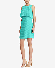 American Living Sleeveless Jacquard Dress