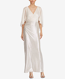 ralph lauren factory outlet store online ralph lauren sleeveless georgette gown