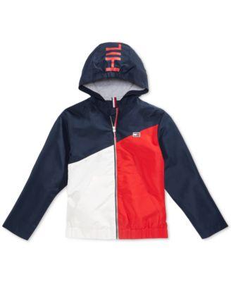 Tommy Hilfiger Alexander Hooded Puffer Coat Little Boys Size 4