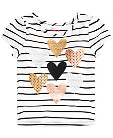 Epic Threads Toddler Girls Heart-Print T-Shirt, Created for Macy's